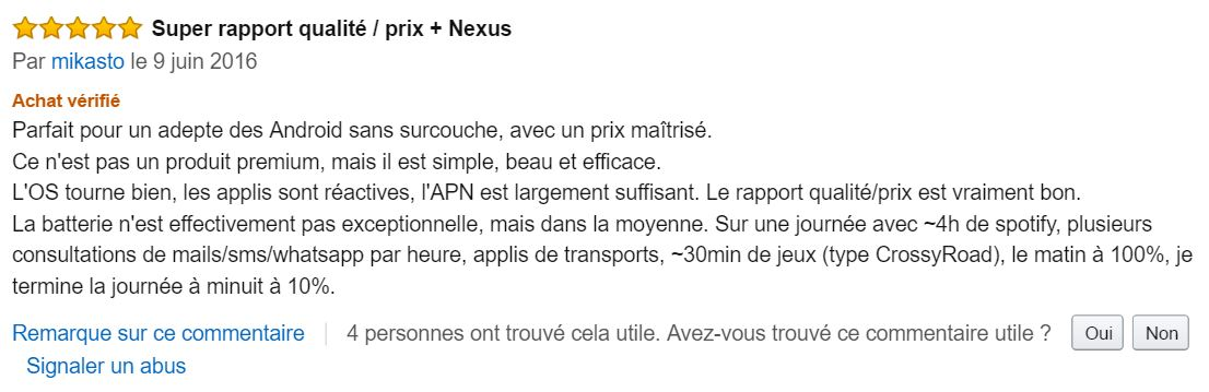 Google_Nexus_5_X_meilleur_commentaire_client_amazon