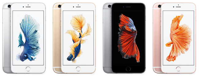 Comparatif smartphone Apple - iPhone 6s plus