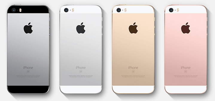 comparatif top smartphone iPhone SE